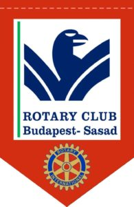 Rotary Club Budapest-Sasad zászlo