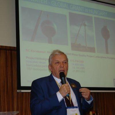 Kercsmár András a vizes Global Grant-ről