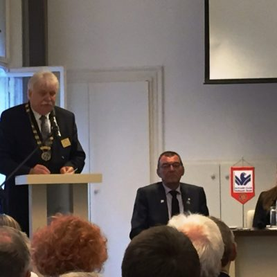 Csóka Imre kormányzó megnyitója