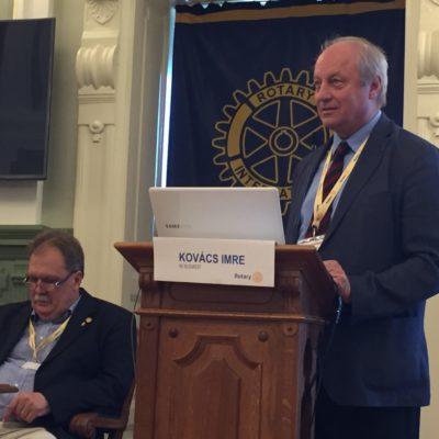 Beszámoló a Rotary Tag-ról