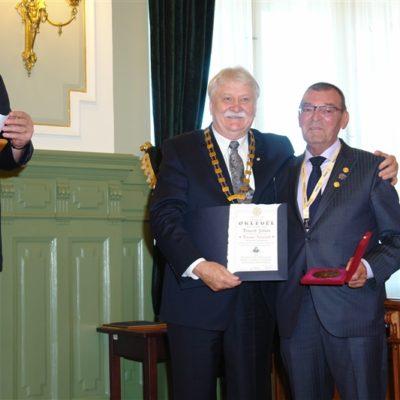 Magyar Rotaryért Érdemérem Zolinak