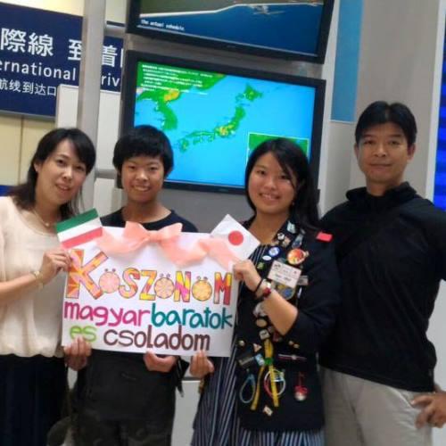 Cserediákunk Sayoko hazautazott Japánba