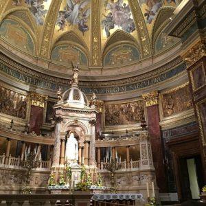 A Bazilika oltára