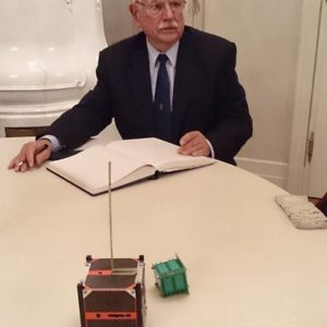 Gschwindt András professzor a MASAT-1 és a SMOG-1-gyel Zánkán is debütált