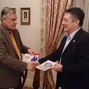 RC Budapest-Szent Imre vizit klubunkban