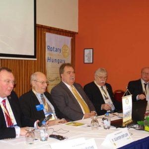 A Rotary Tag elnöksége