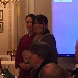 Sayoko édesanyjának bemutatkozása