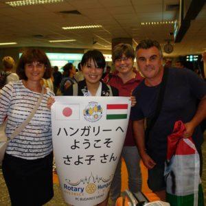 Inoue Sayoko cserediákunk fogadása