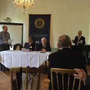 Vita az MRCSZ Közgyűlésen Esterházán