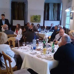 A Károlyi Palota éttermében