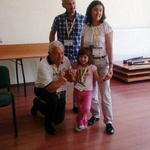GoL gyermek, Vaszi Eszter szüleivel Zánkán