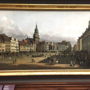 Ez a Canaletto kép már Drezdában készült.