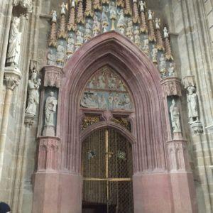 A kápolna bejárata.