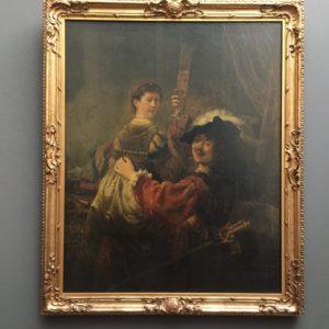 Rembrandt állítólagos önarcképe.
