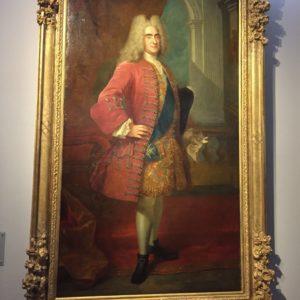 Erős Ágost (1670-1733) szász választófejedelem, amikor már Lengyelországot is bekebelezte.
