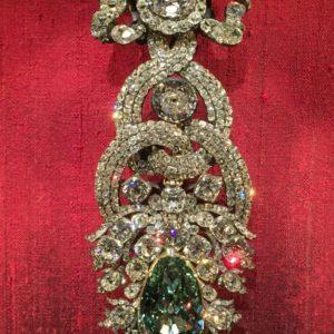 A szász koronaékszerek része.
