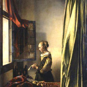 Rita kedvence a Levelet olvasó lány, Vermeertől.