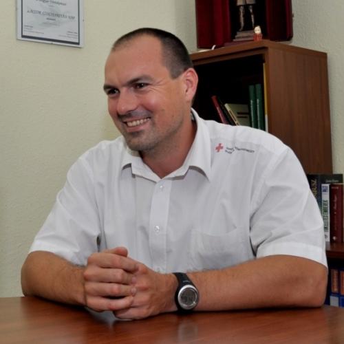 Kardos István a Magyar Vöröskereszt munkájáról