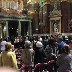 A közönség felállva tapsolta meg Virágh András Gábor orgonaművész remek játékát