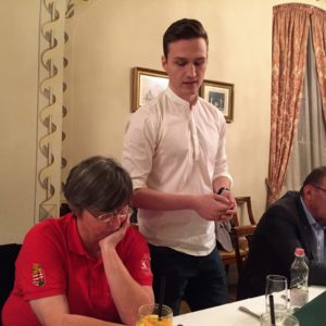 Tomasics Balázs georgiai ösztöndíjhoz kért és kapott támogatást klubunktól