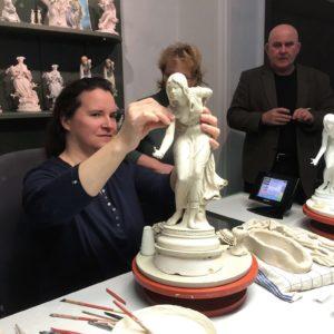 A 400 éves Meisseni Porcelánmanufaktúrában
