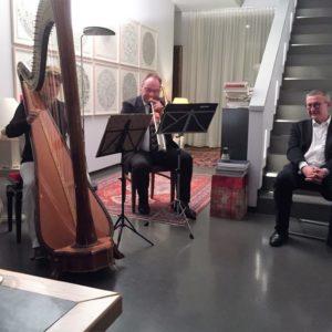 Elnöki kamarakoncert a RC Dresden-Canaletto-nál