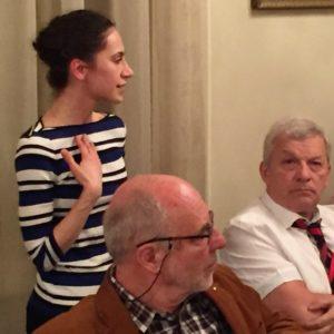 Tóth Dominika bemutatkozása és beszámolója a Rotary Akadémiáról