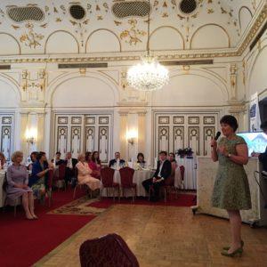 Ottrubay Ágnes, az IWC Budapest alapító elnökének beszámolója
