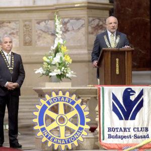 A Rotary Club Budapest-Sasad évének fénypontja
