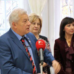 Kercsmár András PDG bevezetője a Rotary Club Budapest-Sasad képviseletében