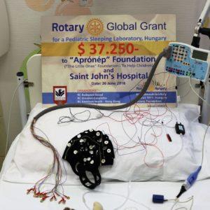 Alváslabor nyílt a Szent János kórházban