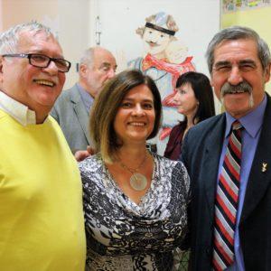 A Rotary Club Hódmezővásárhely képviselői Dr. Altmann Annával